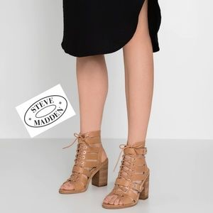 Edgy Cool Steve Madden Caged Sandals